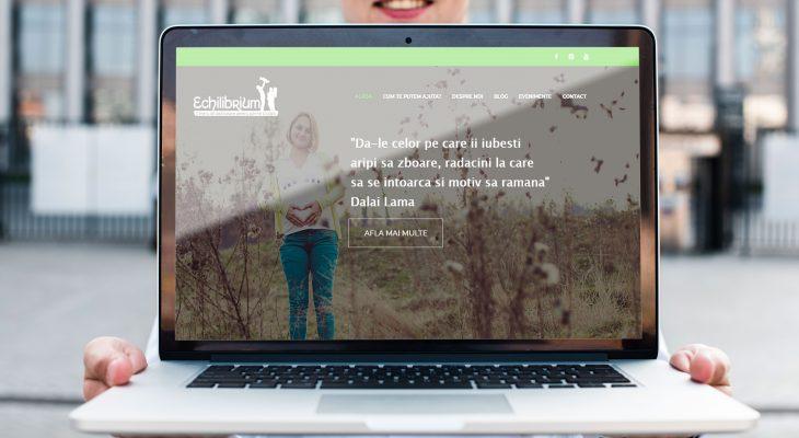 Webdesign CentrulEchilibrium.ro
