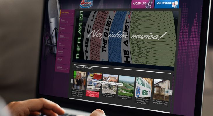 Webdesign Radio Medias 725