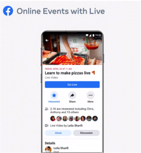 video online events live