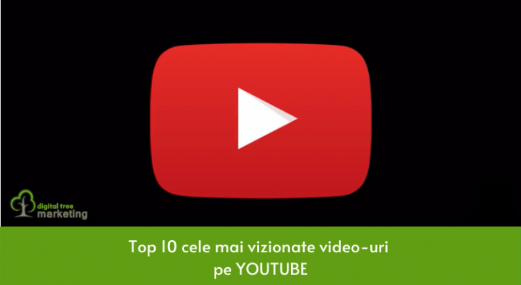Cele mai vizionate 10 video-uri de pe Youtube